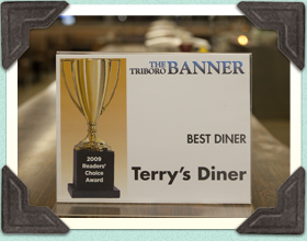 Triboro Best Diner Award